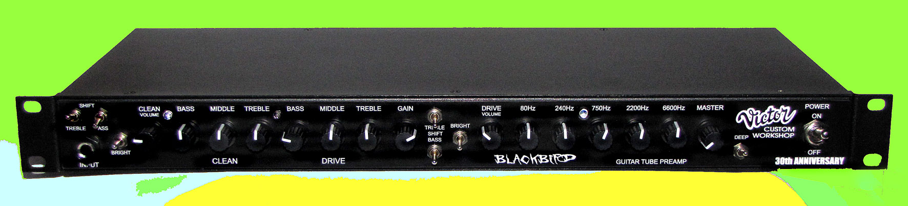 BLACKBIRD  Guitar tube preamp  Price 520€ | Victor Custom